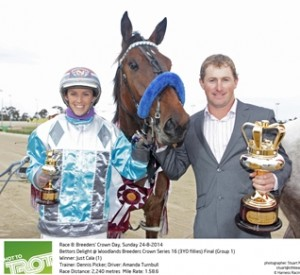 Picker, Turnbull & Just Cala take out Breeders Crown Final