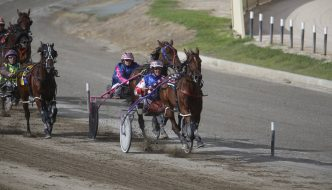 ROYAL STORY AND BERNIE HEWITT TAKE HEWITT MEMORIAL
