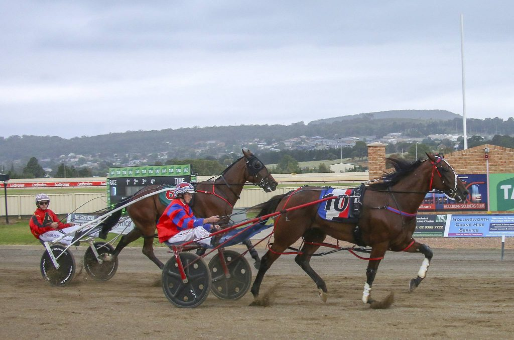 Conviction & Amanda Turnbull win 2019 Goulburn Soldiers Club Frank & Edna Day Goulburn cup