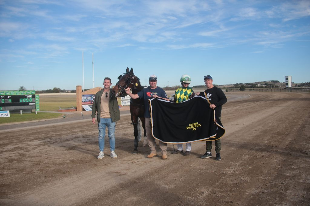2019 Sapling Stakes presentation with Jarrod Croker, Tim Croker, Brad Hewitt and Sam Williams