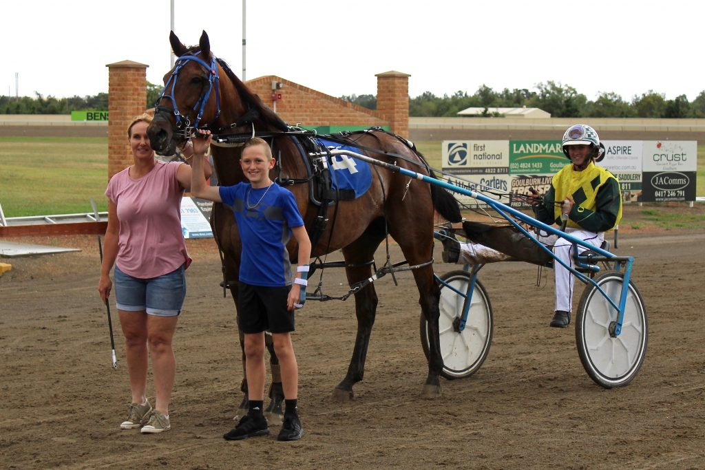 In a family affair Taylah Osmond wins at Goulburn with Little Archie